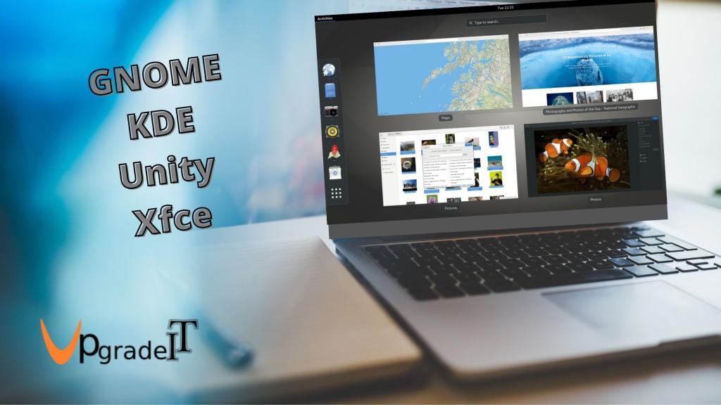 معرفی محیط های دسکتاپ در لینوکس