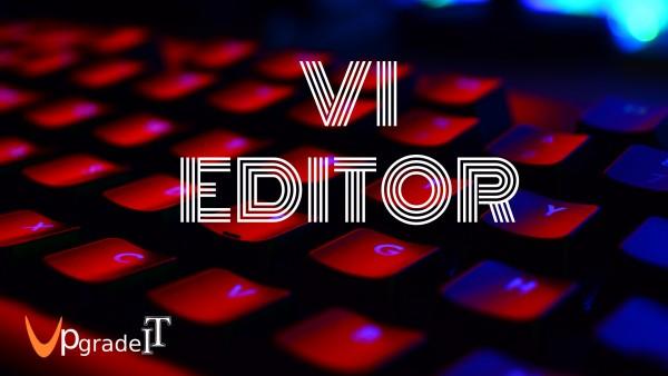 آشنایی با ویرایشگر Vi در لینوکس