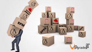 مدیریت  بسته های نرم افزاری در لینوکس